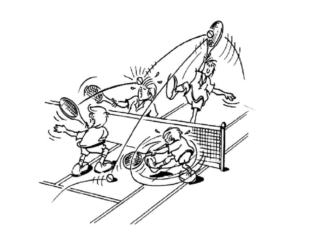 kostenloses Tennis-Schnuppertraining
